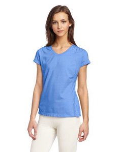 Danskin Women's Pin-Tuck Tee