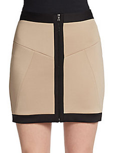 Robert Rodriguez Framed Techno Skirt