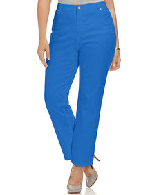 Charter Club Plus Size Straight-Leg Jeans, Monet Blue Wash