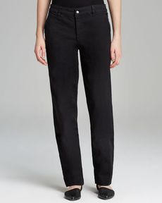 Jones New York Collection Super Stretch Trouser Jeans in Black
