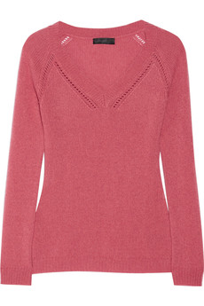 Burberry Prorsum Fine-knit cashmere sweater