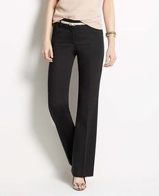 Petite Signature Cotton Sateen Trousers