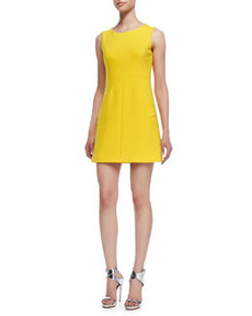 Carpreena Sleeveless Dress, Buttercup   Carpreena Sleeveless Dress, Buttercup