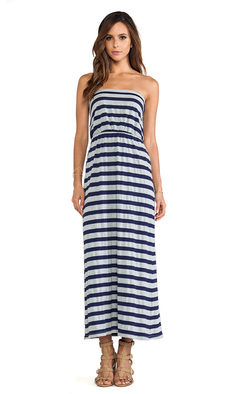 Susana Monaco Maxi Tube Dress in Gray