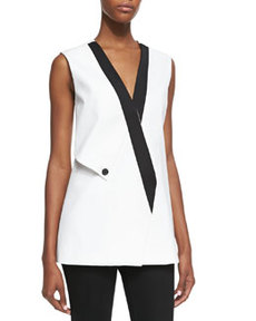 Robert Rodriguez Techno Double Sleeveless Vest