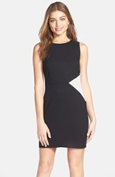 Marc New York by Andrew Marc Contrast Panel Dress (Petite) (Petite)