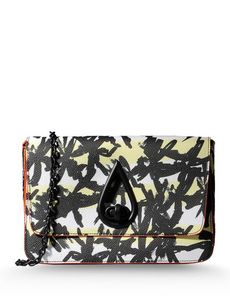 KENZO Logo detail Abstract Pattern Framed closure Internal pockets Removable shoulder strap Handbags Mini not made of fur