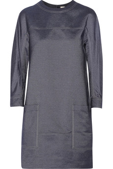 Jason Wu Silk-chambray mini dress