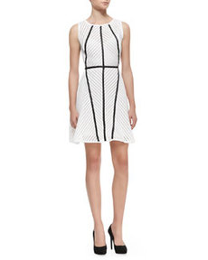 Knit Architectural-Seam Dress   Knit Architectural-Seam Dress