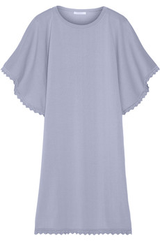 Chloé Knitted cotton-jersey dress