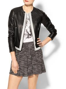 Robert Rodriguez Bonded Leather Jacket