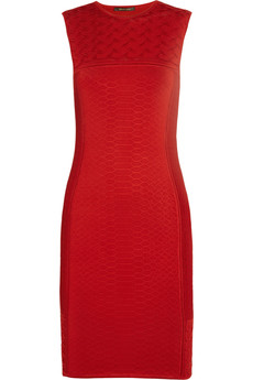 Roberto Cavalli Knitted jacquard dress
