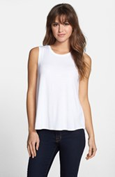 Kenneth Cole New York 'Audrey' Paneled Back Knit Top (Regular & Petite)