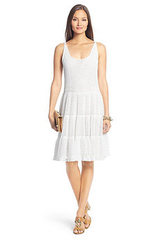 Lille Crochet Knit Dress