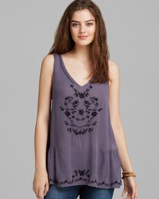 Free People Top - Wild Strawberries
