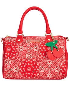 Betsey Johnson Macy's Exclusive American Satchel