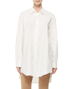 Oversized Button-Down Shirt   Oversized Button-Down Shirt