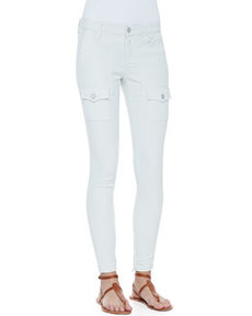 So Real Cargo-Pocket Skinny Jeans, Fog   So Real Cargo-Pocket Skinny Jeans, Fog