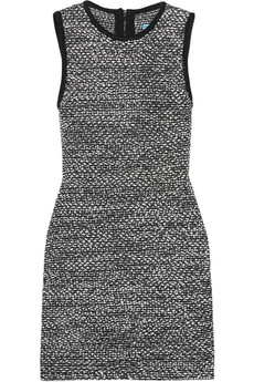 Alice + Olivia Havana wool-blend tweed mini dress