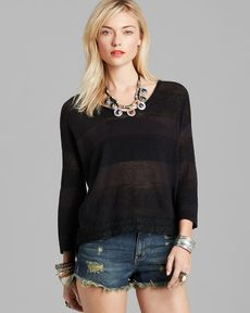 Free People Pullover - Pebble Dash