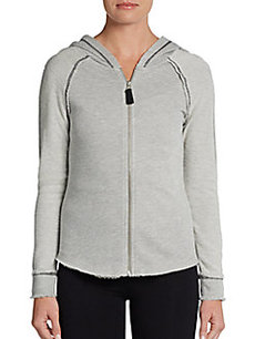 MARC NEW YORK by ANDREW MARC Performance Zip-Front Hoodie