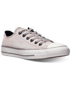 Converse Women's Chuck Taylor Ox Snake Lurex Casual Sneakers from Finish Line