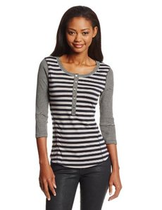 Sanctuary Clothing Women's Sport Henley Top