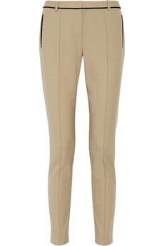 Jason Wu Stretch wool-blend straight-leg pants