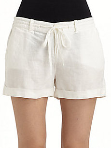 Joie Zachary Linen Shorts