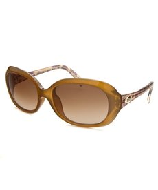 Emilio Pucci Women's Rectangle Light Brown Sunglasses