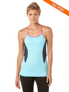 velocity abstract running tank with bra