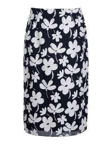 MARNI Crêpe Floral design Mid Rise Hook-and-bar, zip Lined Rear slit Tube dress Crêpe Woven