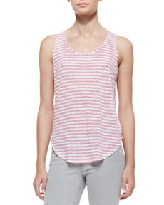 Shore Stripe Bell Tank Top   Shore Stripe Bell Tank Top