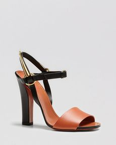 Gucci Tess Bicolor High Heel Sandal