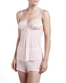 Cosabella Queen of Hearts Camisole & Boxer Set