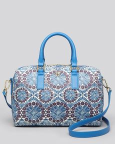 Tory Burch Satchel - Robinson Printed Middy