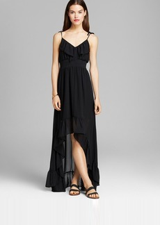 GUESS Maxi Dress - Chiffon Ruffle