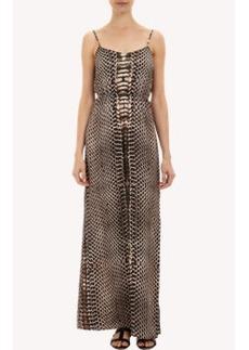 Twelfth Street by Cynthia Vincent Python-print Maxi Dress