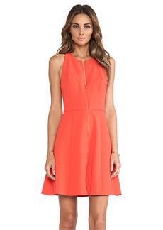 Trina Turk Bishop Dress in Orange