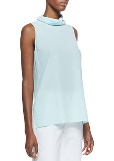 Lafayette 148 New York Careena Sleeveless Silk Top