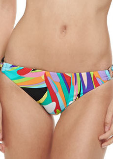 Trina Turk Prisma Side-Ring Swim Bottom