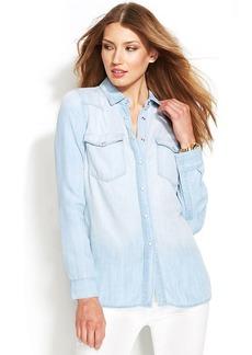 MICHAEL Michael Kors Long-Sleeve Chambray Shirt