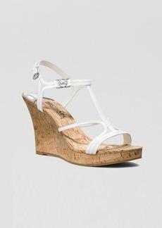 MICHAEL Michael Kors Open Toe Platform Wedge Sandals - Cicely
