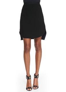 Elie Tahari Courtney Jersey Asymmetric Skirt