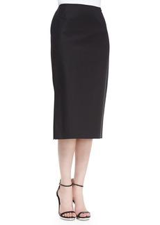 Lafayette 148 New York Dayna Below-the-Knee Skirt, Black
