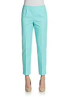 Lafayette 148 New York Cropped Bleeker Pants