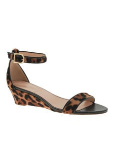 Collection Lillian calf hair low wedges