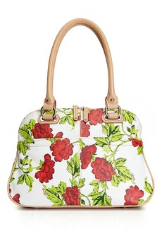 Tignanello Leather Bed of Roses Satchel