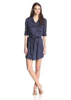 Joie Women's Wila Challis Jersey Combo Shirtdress