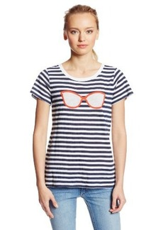 French Connection Women's Shades Stripe Tee